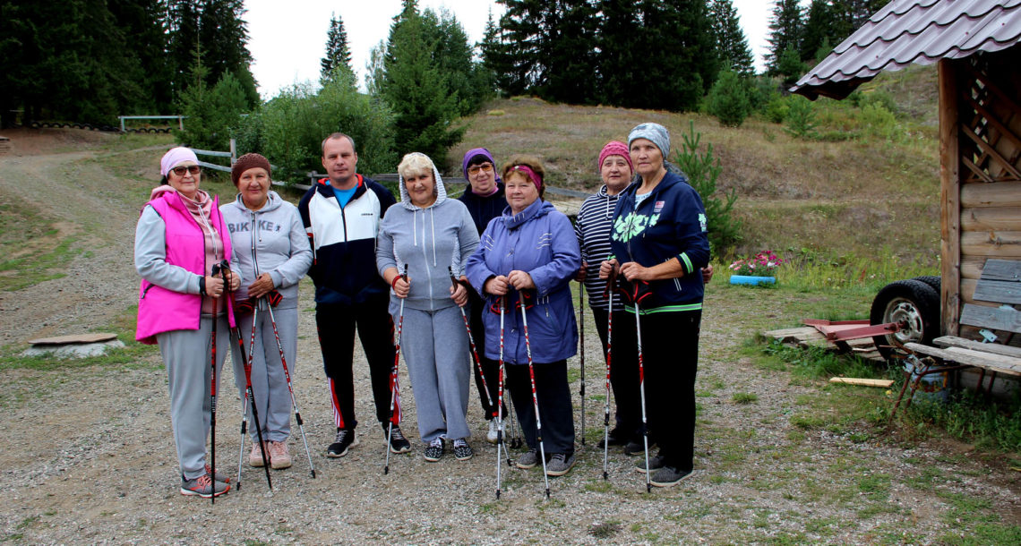 группа скандинавской ходьбы в Нязепетровске