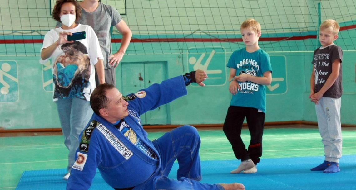 Тренировка в Нязепетровске