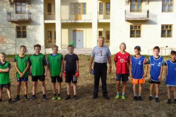 Юные футболисты из Нязепетровска