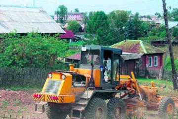 Грейдирование дорог в Нязепетровском районе