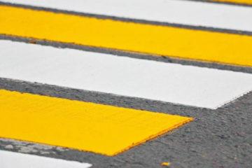 Новые пешеходные переходы в центре Нязепетровска