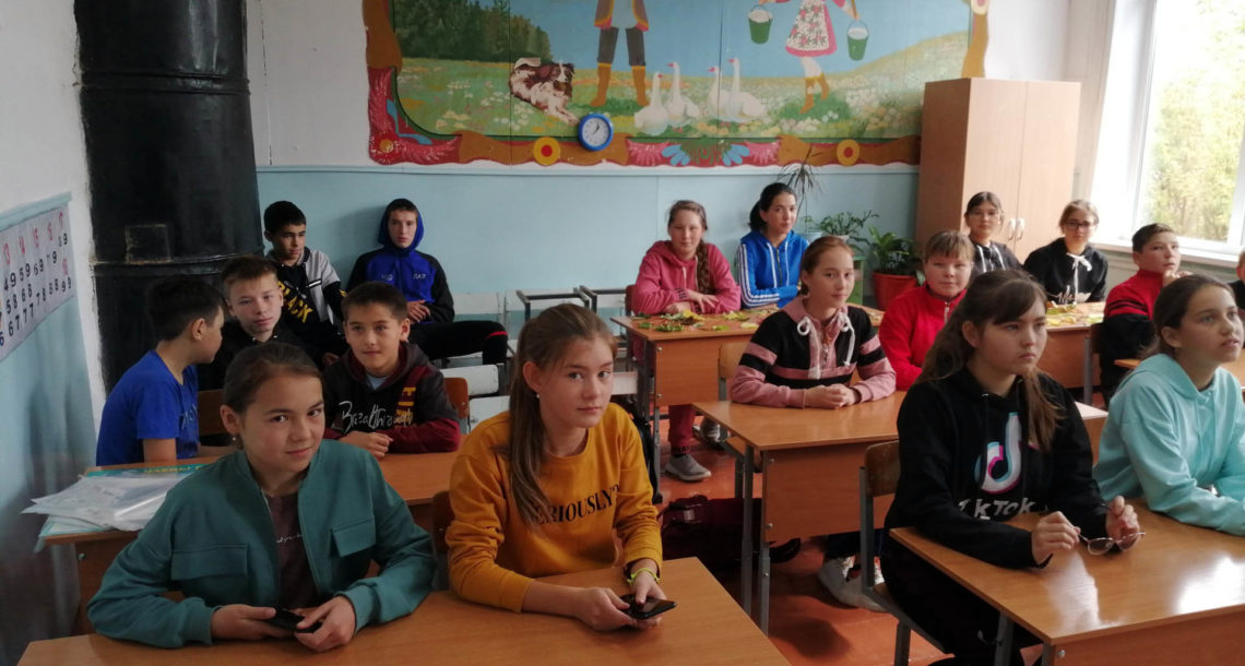 День трезвости в с. Арасланово Нязепетровского района