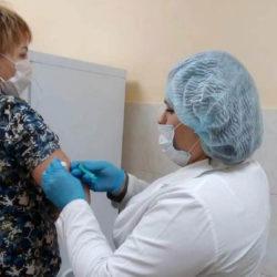 В Нязепетровске продолжается вакцинация