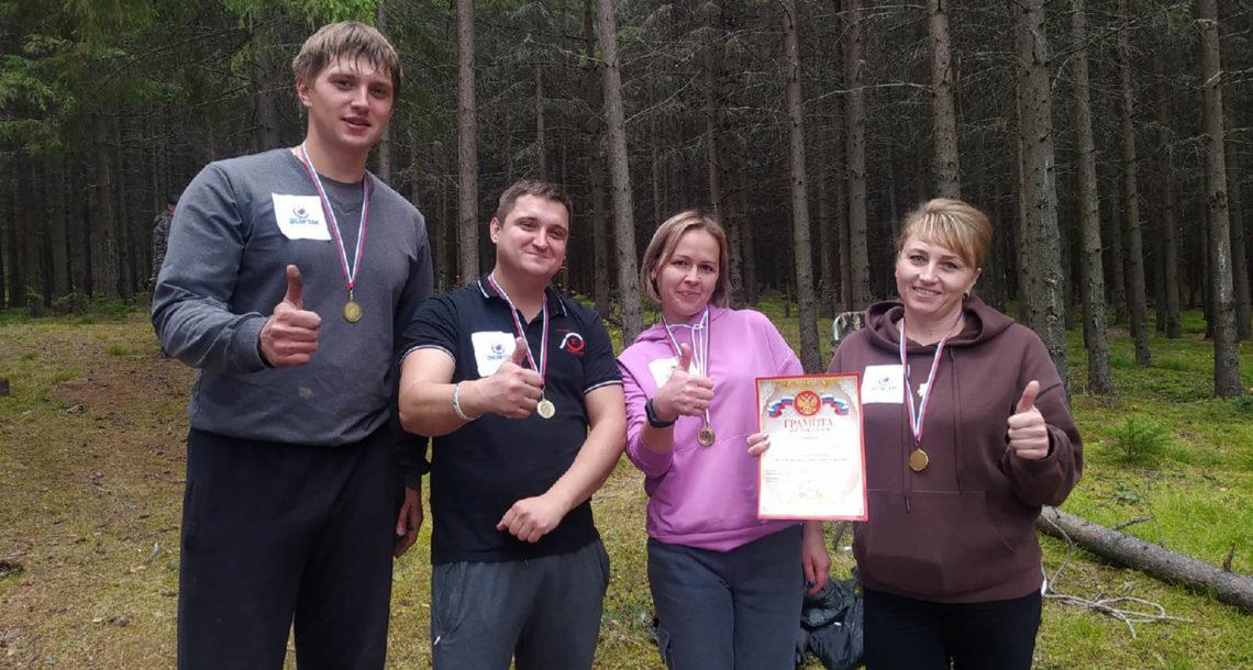 Команда педагогов- участников туристического слета